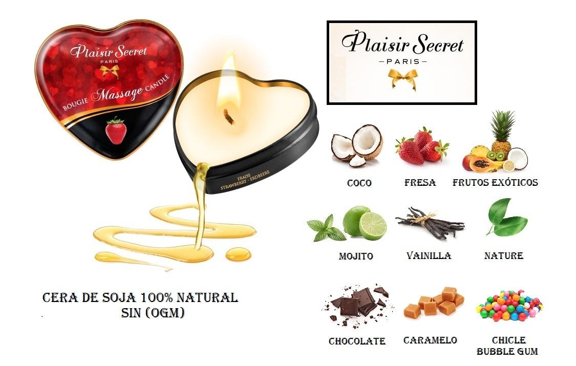 vela de masaje 35ml. plaisir secret egolala eroteca valencia logo