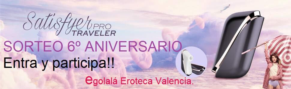 Sorteo Erótico 6º Aniversario EGOLALÁ EROTECA VALENCIA.